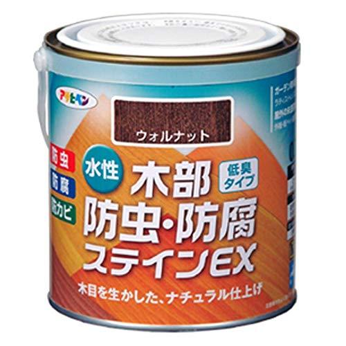 アサヒペン 水性木部防虫・防腐ステインEX 0.7L ウォルナット