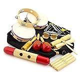 tiger music pet7 - set di strumenti a percussione