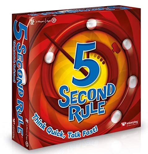 5 Second Rule- Juego de Cartas, Multicolor (Interplay UK Ltd GF001)