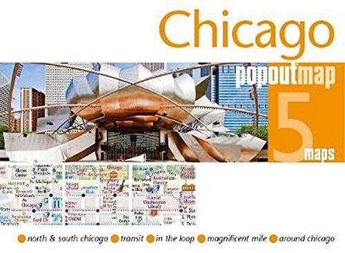 Chicago PopOut Map (PopOut Maps)