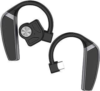 UKCOCO Öronkrok hörlurar trådlösa hörlurar icke-örat plugg headset brusreducerande hörlurar för sport yoga löpning utomhus...