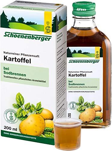 Schoenenberger Bio Naturreiner Pflanzensaft Kartoffel (2 x 200 ml)