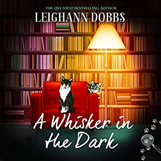 A Whisker in the Dark audiobook cover art