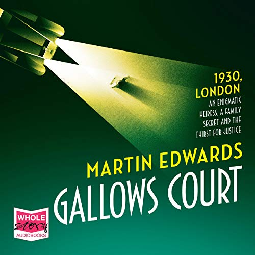 Gallows Court audiobook cover art