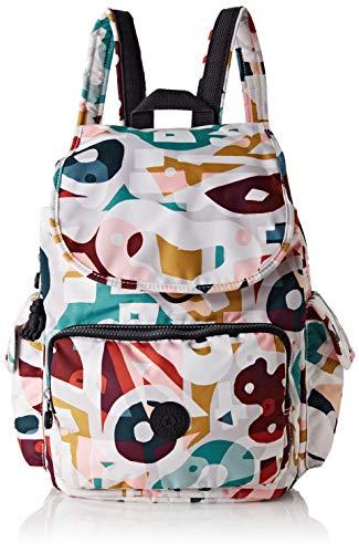 Kipling Damen City Pack Rucksack, Mehrfarbig (Music Print), 32x37x18.5 centimeters