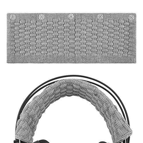 Geekria Fascia per cuffie Bose, AKG, inclusi Sennheiser, Sony, Audio-Technica-Fascia cuscino, per un maggiore Comfort e protezione, colore: grigio, taglia: L