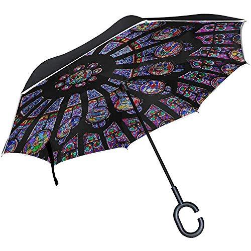 Alice Eva Umgedrehter Regenschirm Umgedrehter Regenschirm Rosette Notre Dame De Paris Regenschirm Umgedrehter Regenschirm hochklappen