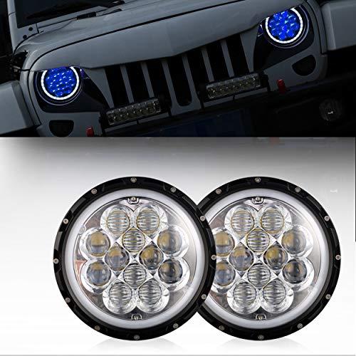 u-Box Jeep TJ JK Headlights 7inch Halo LED