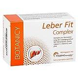 LEBER FIT COMPLEX, hochdosierter Komplex aus dem Markenrohstoff PHOSPHOcomplex, inkl. Silymarin, Vitamine und Mineralstoffe, sehr gute Bioverfügbarkeit (60 Kapseln, Monatspack)