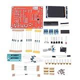 Multifuncional Transistor Tester Detección automática PNP NPN FET de Doble diodo tiristor SCR medidor GM328