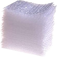 Ioffersuper 100 Pcs (4x6inch) Bubble Double Walled Clear Cushioning Pouch Bags Wrap- Protective Bags for Shipping,Storage,and Moving(Style 1)