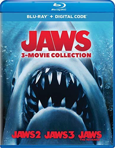 Jaws 3-Movie Collection Blu-ray + Digital - Blu-ray