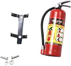 Choosebuy Fire Extinguisher Model 1/10 RC Crawler Accessory Parts For Axial SCX10 TRX4 (Red)