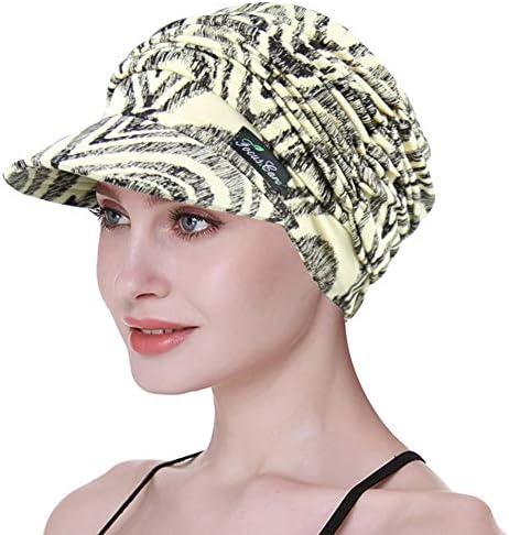 Soft Hats for Chemo Women Bamboo Baseball Cap Hair Loss Turbans