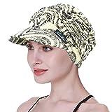 FocusCare Gorras de béisbol para los Sombreros de Las Mujeres del Vendedor de periódicos de Chemo para la quimioterapia