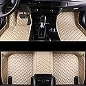 LUVCARPB Fußbodenmatten für Autos, passend für Jaguar XF 2008-2016 XJ XE F-TYP XK F-PACE, wasserdichtes Autoteppichzubehör