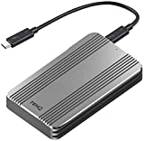 [Intel Certified] TEKQ Rapide Portable External Thunderbolt 3 SSD, with WD SN550 1TB Inside 2200MB/s+ Read, 1900MB/s+ Write (NOT Compatible with Device Without Thunderbolt 3 Interface) (WD SN550 1TB)