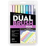Best Marker Pens - Tombow 56187 Dual Brush Pen Art Markers, Pastel Review