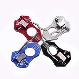Bicaster Decut Adjustable Arrow Rest Aluminum for Recurve Bows (Black) -1pcs