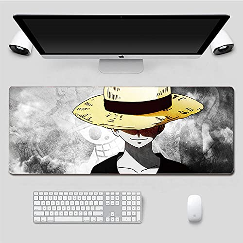 Mouse pad One Piece 40 x 90 cm Anime Mouse pad Gaming Mouse pad (40 x 90 cm) -A_700 x 300 x 3 mm