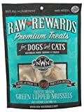 Northwest Naturals Raw Rewards Freeze-Dried Treats for Dogs and Cats –Green-Lipped Mussels – Gluten-Free Pet Food – 2 Oz.