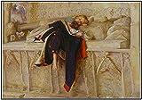 SXXRZA Arte de Pared 30x50cm Sin Marco John Everett Millais 《El niño del Regimiento》 Carteles e Impresiones Imágenes artísticas de Pared para la decoración del hogar de la Sala de Estar