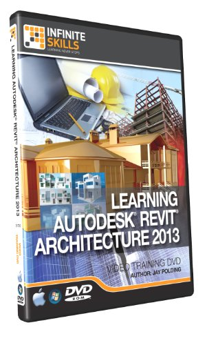 Learning Revit Architecture 2013 - Training DVD [import anglais]