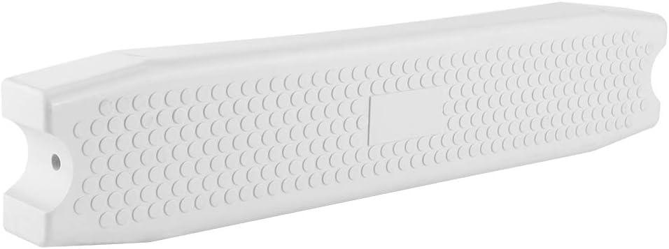 Atyhao Peldaños de Escalera para Piscina, Accesorio de Repuesto de Pedal de Escalera de plástico Blanco Antideslizante para Piscina de SPA de Aguas Termales