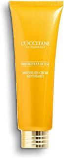 L'Occitane Immortelle Divine Foaming Cleansing Cream, 4.2 Fl Oz