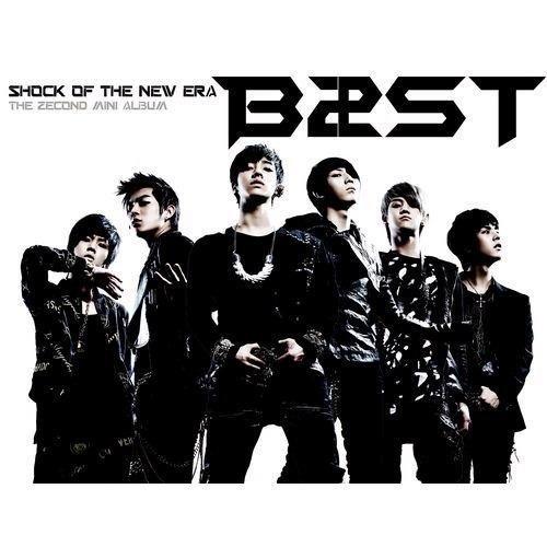 [画像:Shock Of The New Era : BEAST 2nd Mini Album]