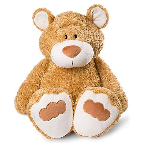 NICI 46511 Kuscheltier Bär 100 cm– Plüschtier für Mädchen, Jungen & Babys – Flauschiges Stofftier zum Spielen, Sammeln & Kuscheln – Gemütliches Schmusetier, Goldbraun