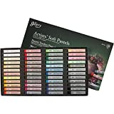 Gallery - Juego de tizas pastel suaves, grosor de 1 cm, largo de 6,5 cm, 48 unidades, colores variados