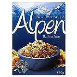Alpen Muesli Sin Azúcar Añadido (560g) (Paquete de 2)