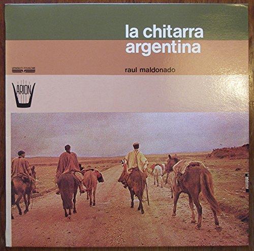 MALDONADO, RAUL / la chitarra argentina / raul maldonado / 1976 / Bildhülle / ARION # FARN 1062 / Italienische Pressung / 12