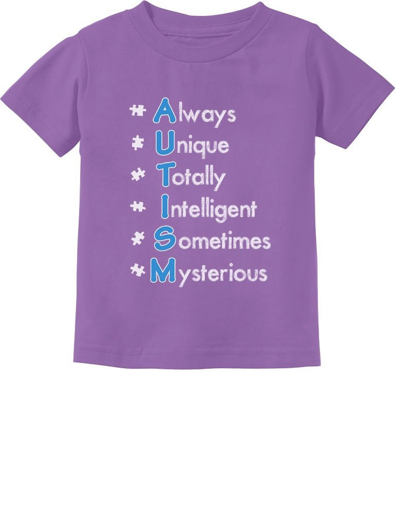 Always unique totally intersting sometime mysterious Autism Carers Kids T-shirt
