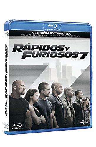 Rápidos Y Furiosos 7 (la portada puede variar) [Blu-ray]