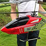 Lotees 3.5CH RC Airplane Helicopter Remote Control Drone Large UAV Aircraft Aviation Remote Model Intelligent Height Setting Rechargeable Boys Girls Children Gifts Kids Toy Birthday Present