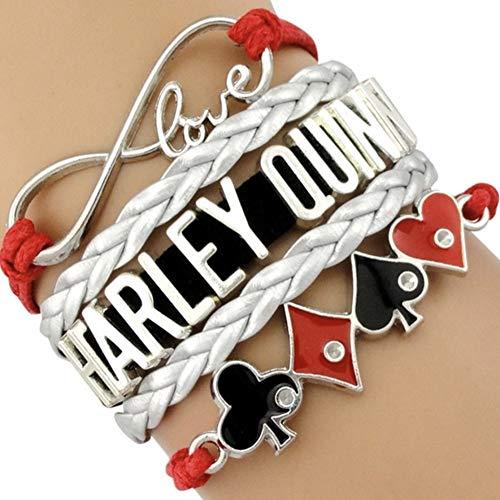 51qNL4DCrLL Harley Quinn Bracelets