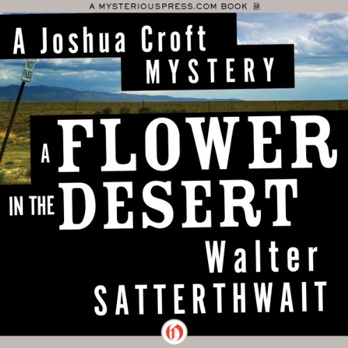 A Flower in the Desert audiobook cover art