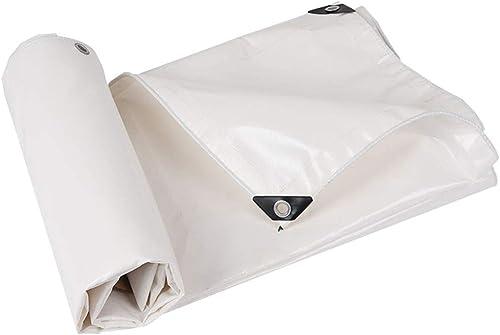 Bache Bache de Prougeection pour bache de Plein air bache réversible, Polyvalente, imperméable, imperméable, Blanche, 500g   m2