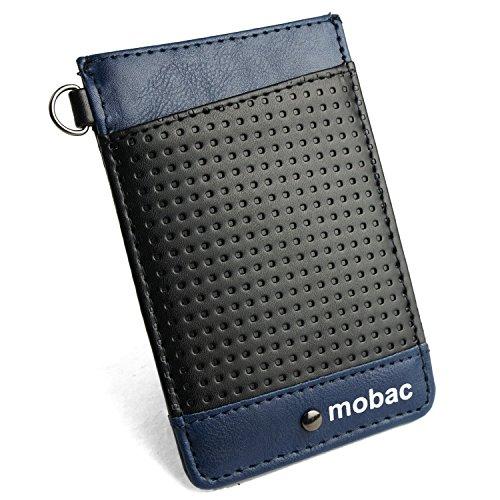 [モバック] mobac パスケース 定期入れ メンズ 両面 カードケース メッシュエンボス ツートンカラー レディ...