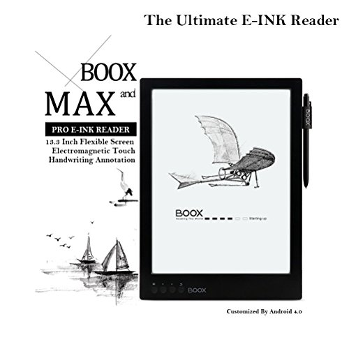 Onyx BOOX Max 13.3 Inch E-ink Reader Android 4.0 Flexible Handwriting Screen (16GB)