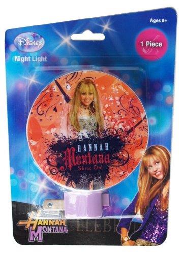 Disney Hannah Montana'Shine On!' Night Light