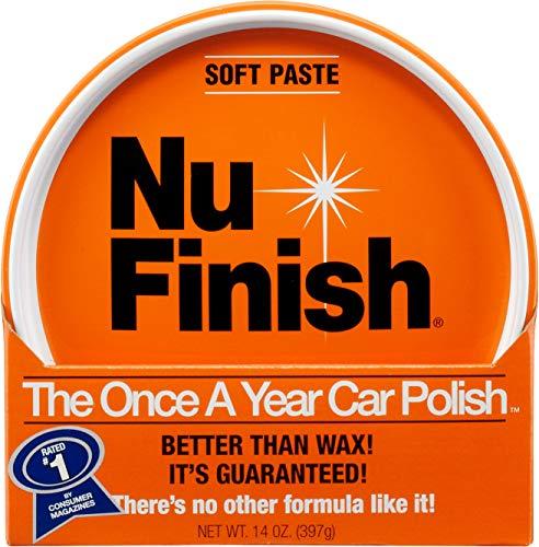 Nu Finish Paste Car Polish, Better Than Wax, 14 oz.