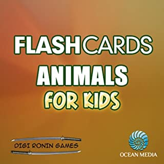 Flash Cards: Animals for Kids