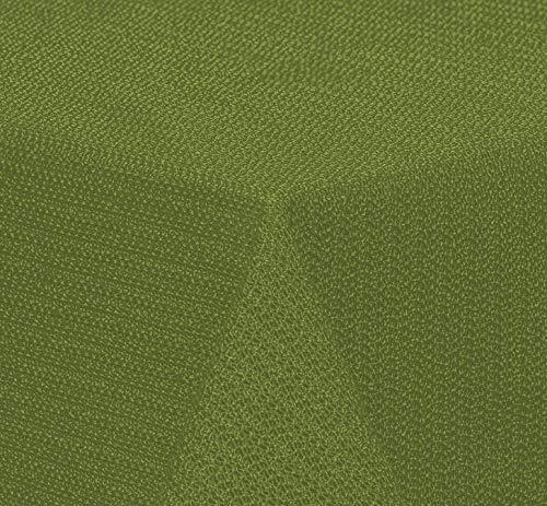 Brandsseller - Gartentischdecke geschäumt wetterfeste und rutschfeste Tischdecke für Garten Balkon und Camping Eckig 130x160 cm - Grün