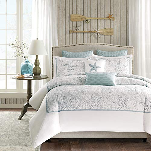 Harbor House Maya Bay Duvet Cover Mini Set, Full/Queen, White