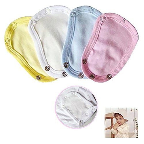 Bodyverlängerung, 4 Stück, universal, weich, für Jungen und Mädchen, Kleinkinder, Kleidung für längere Lebensdauer