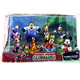 Disney Mickey Mouse Clubhouse Micky Mouse and Friends Figurine Delux Set of 10