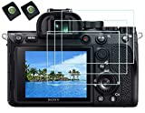 Tempered Glass Screen Protector for Sony Alpha A7R IV Camera with Hot Shoe...